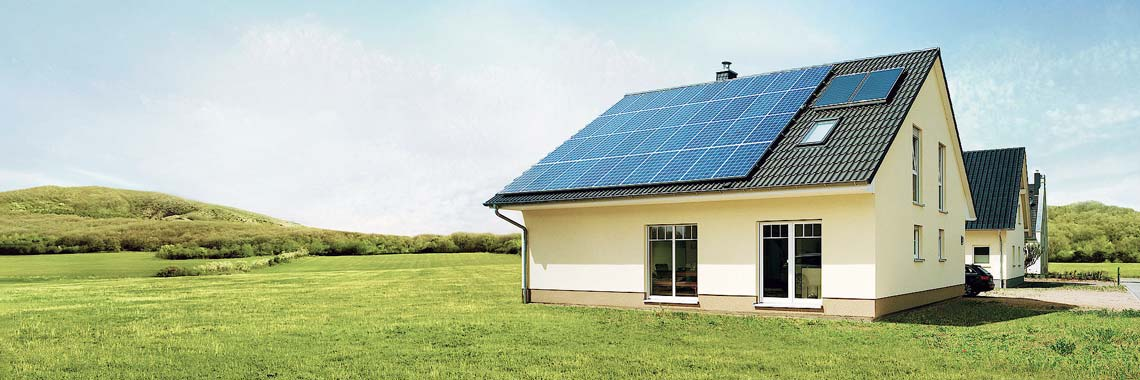 Photovoltaik auf dem Eigenheim-Dach