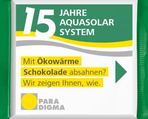 Aktion 15 Jahre AquaSolar-System